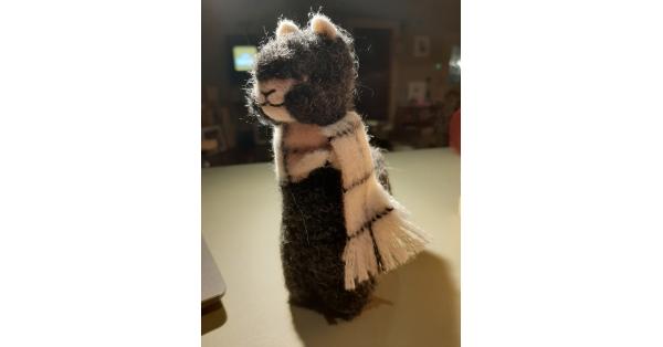 "Alpaca Plush Teddy 8"""